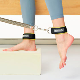 ELEMENTS Pilates Cuffs in use