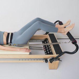 Pilates Lumbar Belt in use