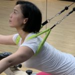 ELEMENTS 360 lined single loops made for shoulders in Gyrotonic method, but can be used around lers too in both Pilates and Gyrotonic methods